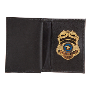MODEL #11: FEDERAL STYLE/DOUBLE ID BADGE CASE - Slim Line Case Company