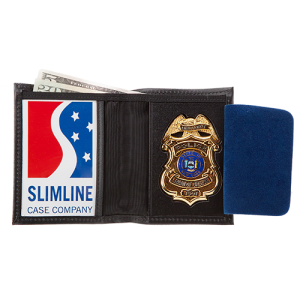 MODEL #4: BADGE CASE WALLET - Slim Line Case Company